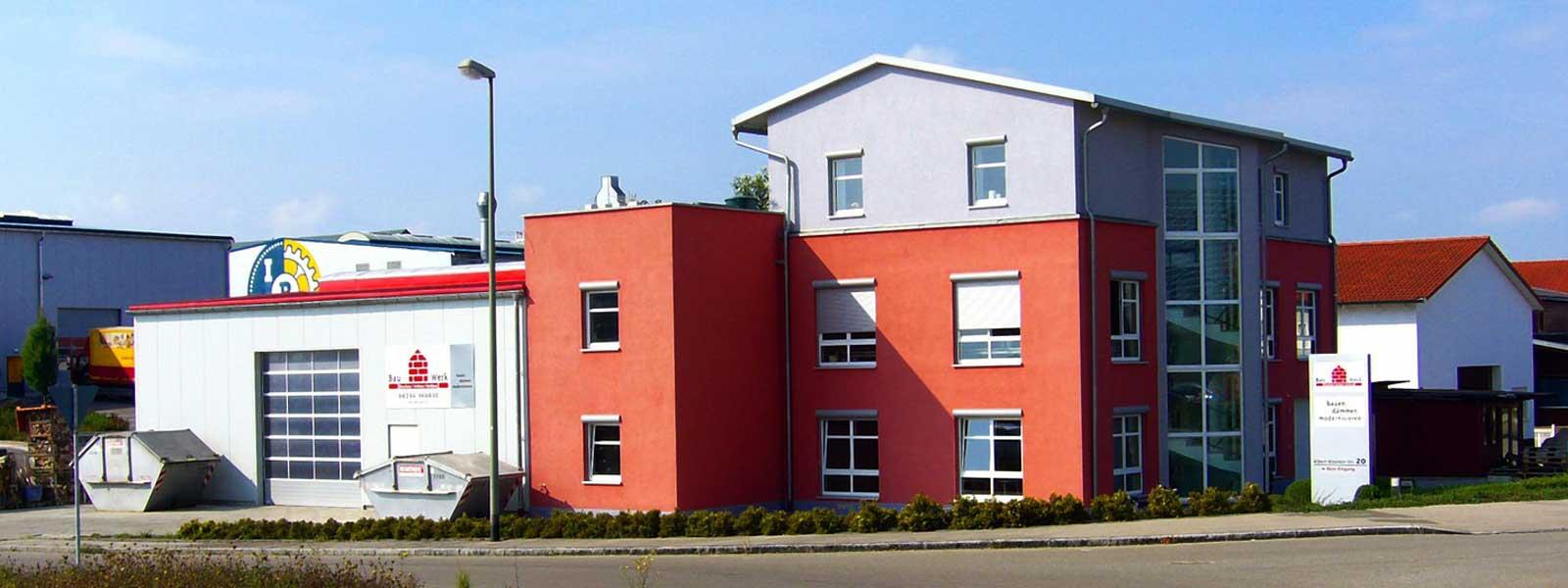 Bauwerk Bobingen, Bauen