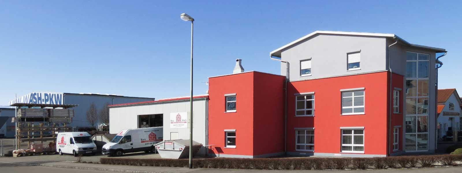 Bauwerk Bobingen - über unser Unternehmen