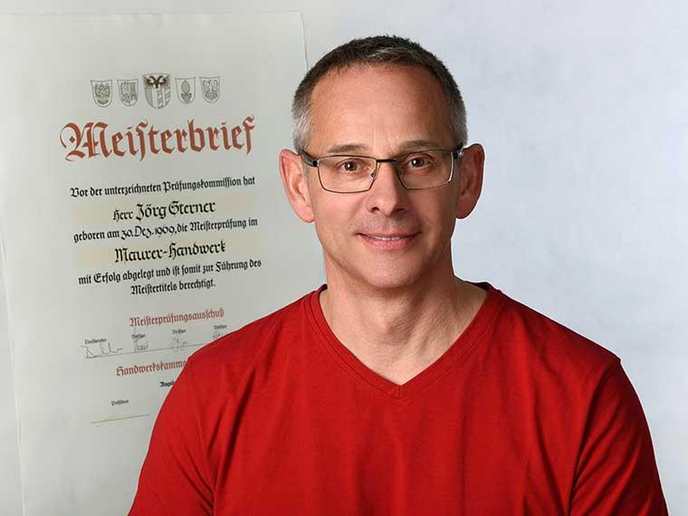 Maurermeister Jörg Sterner von Bauwerk